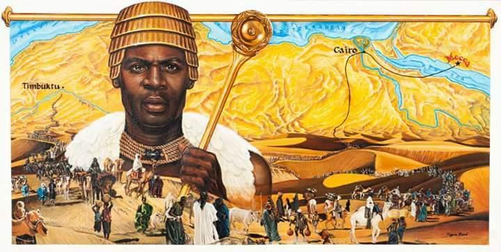 Gelmiş Geçmiş Dünyanın En Zengin Adamı: Mansa Musa