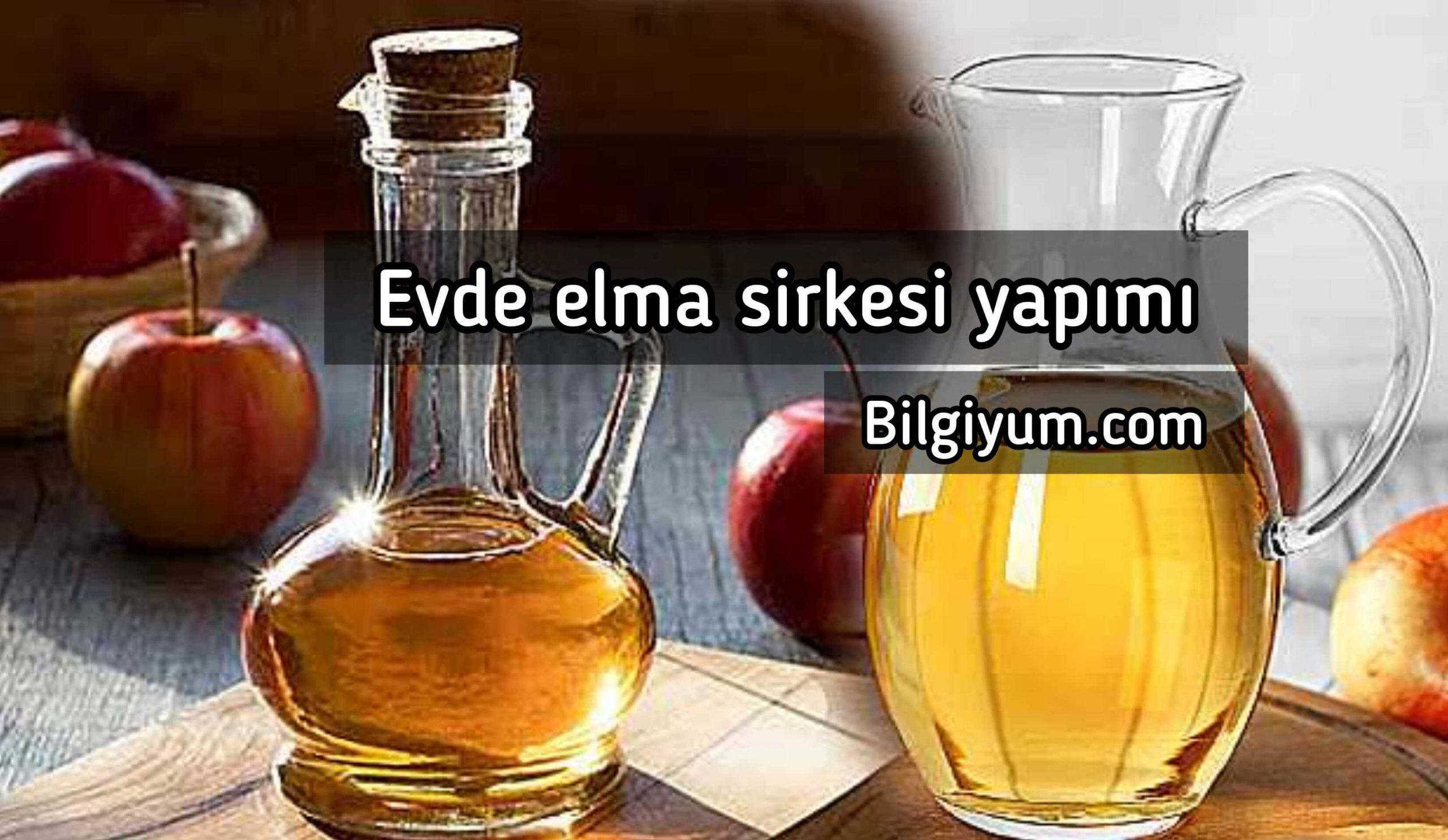 Elma Sirkesi yapımı