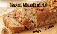 Cevizli ekmek yapımı