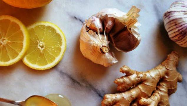 Sarımsak, Limon, Zencefil ve Zerdeçal Kürü